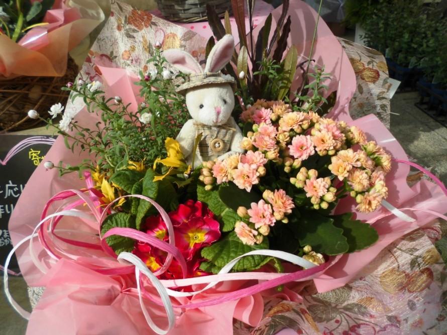 春のお花かごもり飯田市庭つくり、外構工事、ガーデン、ガーデニング
