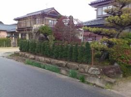 垣根、飯田市庭つくり、外構工事、ガーデン