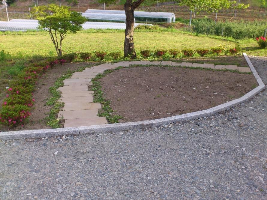 飯田市庭つくり、外構工事、ガーデン