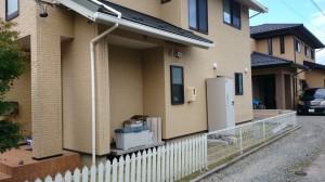 目隠し、飯田市庭つくり、外構工事、ガーデン、ガーデニング