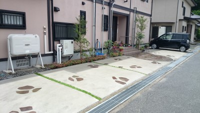 駐車場 after