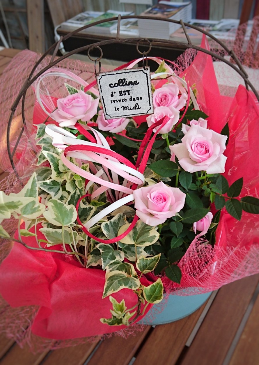 飯田市でお庭の事なら何でもお気軽にご相談。バラのかごもり。